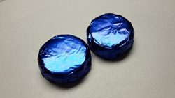 Chocolate Covered Foil Wrapped Oreos 100 Pieces DARK BLUE COLORED FOIL WEDDING FAVORS GIFT BASKE ...