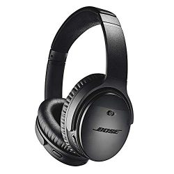 Bose QuietComfort 35 II Wireless Bluetooth Headphones, Noise-Cancelling, with Alexa voice contro ...