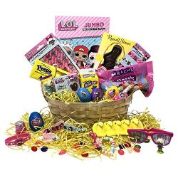 Easter Gift Basket – Premade LOL Easter Basket For Kids, Boys, Girls – Filled with E ...