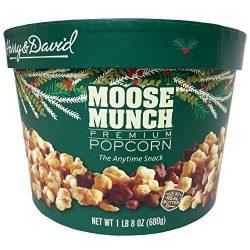 Harry & David Moose Munch Gourmet Popcorn 24 Oz Drum