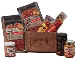 Carnivore Club Gift Crate – Gourmet Food Gift 7 Piece Set – 1.5 Lbs of Meat –  ...