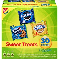 Nabisco Cookies Sweet Treats Variety Pack Cookies – with Oreo, Chips Ahoy, & Golden Or ...