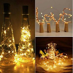 Euone Clearance Sales, 12Pcs Cork Shaped LED Night Light Starry Light Wine Bottle Lamp For Party ...
