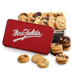 Mrs. Fields Cookies Mrs. Fields Nibblers Classic Tin (Pack of 30)