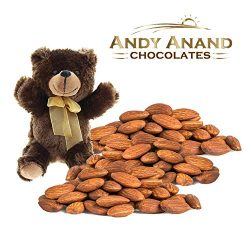 Andy Anand Chocolate – Premium California Organic Roasted Unsalted Almonds Gift Basket wit ...