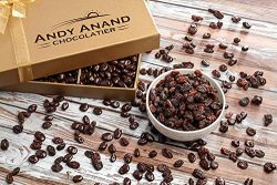 Andy Anand's California Milk Chocolate covered Raisins 1 LB, for Birthday, Valentine Day,  ...