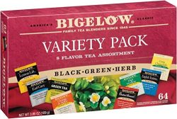 Bigelow Tea Company Products – Tea Tray Pack, 8 Assorted Teas, 64/BX – Sold as 1 BX  ...