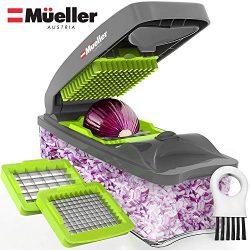 Mueller Onion Chopper Pro Vegetable Chopper – Strongest – NO MORE TEARS 30% Heavier  ...