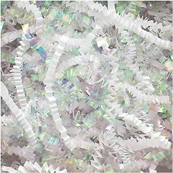Crinkle Cut Paper Shred Filler (1/2 LB) for Gift Wrapping & Basket Filling – Diamond W ...