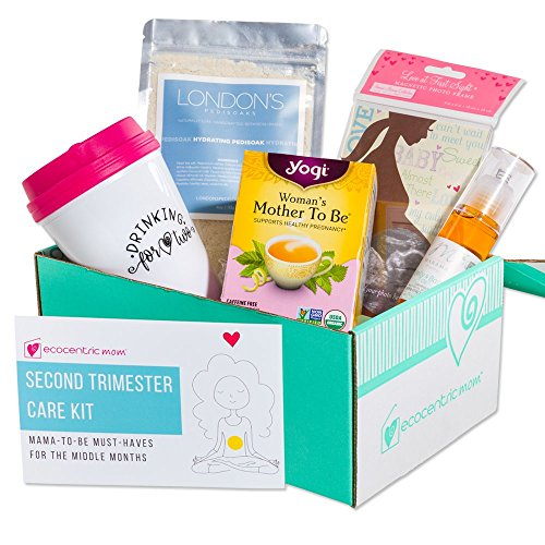 Ecocentric Mom Pregnancy Gift Box – Second Trimester Maternity Gifts with Non-Toxic, Organ ...