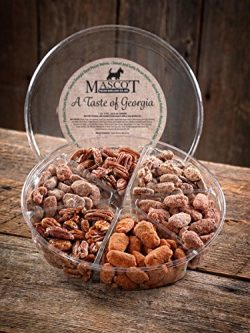 Mascot Pecans & Nut Gifts Since 1955- A Taste of Georgia Pecans Gourmet Gift Basket LARGE- 6 ...