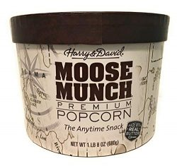 Harry & David Moose Munch Gourmet Popcorn 1lb 8 Oz Assortment Drum