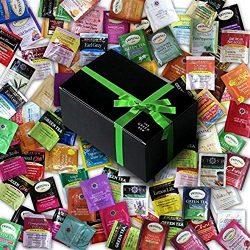 Tea Bags Sampler Assorted Flavors Of Bigelow, Twinings & Stash Teas, Packed In Luxurious Gif ...