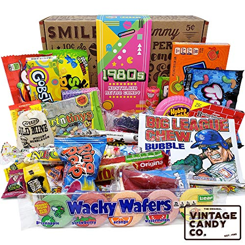 VINTAGE CANDY CO. 1980's RETRO CANDY GIFT BOX – 80s Nostalgia Candies – Flashb ...