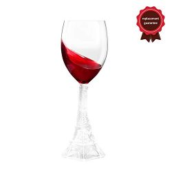 Eiffel Tower Wine Glass Brings a Little Touch of French Class Perfect Combination of Romance and ...