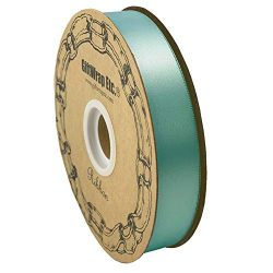 Mint Green Satin Fabric Ribbon – 1″ x 100 Yards, Holiday Decor, Easter, Garland, Gif ...