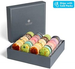 Kayla's Cake Premium French Macarons Cookies Gift Baskets Gourmet Chocolate Box Food Desse ...