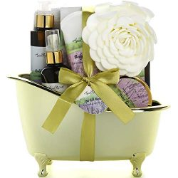 Spa Gift Baskets For Women – Luxury Bath Set With Lavender & Tea Tree Oil – Spa  ...
