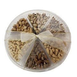 Holiday Nuts Gift Basket Large Sectional Delicious Variety Mixed Nuts Prime Gift | Healthy Fresh ...