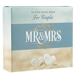 Christian Art Gifts Mr & Mrs Date Night Idea Cards