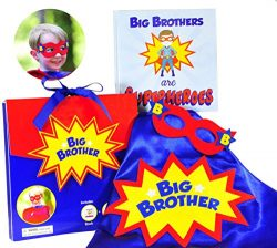 Tickle & Main – Big Brother Gift Set – 3 Piece Set Includes Big Brothers are Sup ...