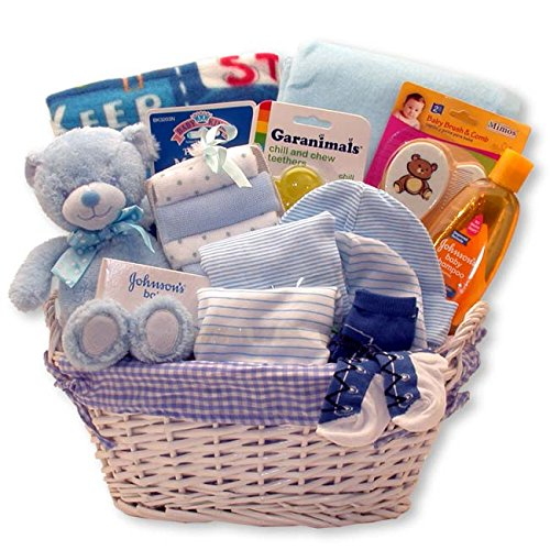 Just for The New Baby Boy – New Baby Boy Gift Basket Perfect for Baby Shower and The New B ...