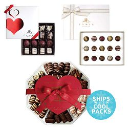Chocolate Gift Basket Chocolate Gifts – Delicious Gourmet Chocolates (3 Pack)