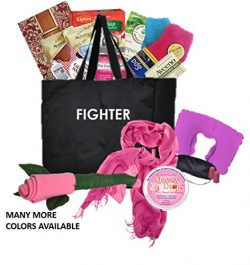 Just Don't Send Flowers The Big Queasy Cancer Gift Basket for Women – Fighter