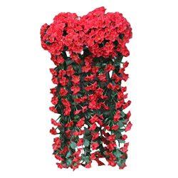 SANGNI Artificial Flowers,Wedding Flower Wall Decor, Artificial Silk Flower,Home Decorative Flow ...