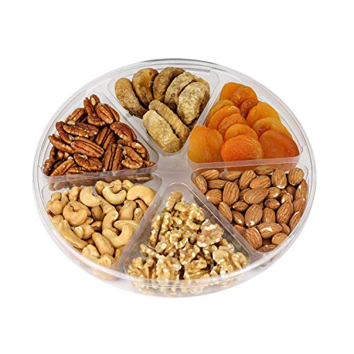 Holiday Fruit and Nuts Gift Basket,Gourmet Food Gift Prime Delivery,Healthy Fresh Gift Idea For  ...