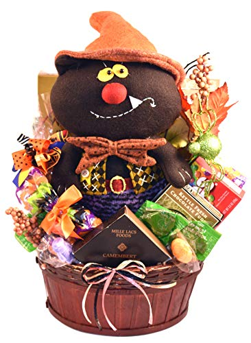 Halloween Spooktacular, Halloween Gift Basket With Halloween Themed Treats For Kids Or Adults
