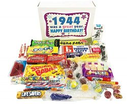 Woodstock Candy ~ 75th Birthday Gift Box of Nostalgic Retro Candy from Childhood for 75 Year Old ...