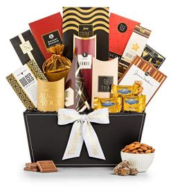 GiftTree Broadway Gourmet Thinking of You Gift Basket | Premium Chocolate, Gourmet Cookies, Mixe ...