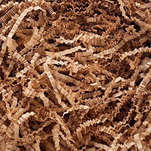 Tatuo Crinkle Paper Filler Shredded Paper Dry Straw Strands Shreds for Easter Basket Filling Gif ...