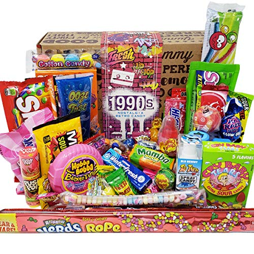 VINTAGE CANDY CO. 1990s RETRO CANDY GIFT BOX – 90s Nostalgia Candies – Flashback NIN ...