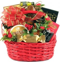 Romantic Italian Evening -Romantic Gourmet Valentine's Day Gift Basket