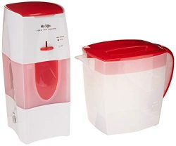 Mr. Coffee 3-Quart Iced Tea and Iced Coffee Maker, Red
