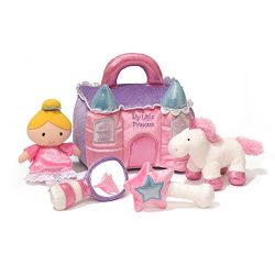 Baby GUND Princess Castle Stuffed Plush Playset, 8″