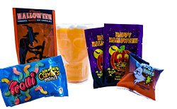 Halloween Candy and Cocoa Gift Basket for Kids- Includes Plastic Mug, Witch's Brew Hot Coc ...