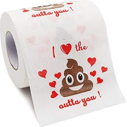 Bdwing Romantic Novelty Toilet Paper, Funny Joke Prank Gag Gift for Birthday, Valentine's  ...