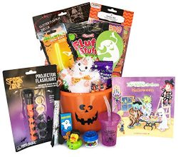 Filled Toddler Halloween Basket – For Young Boy or Girl -Toddler – Halloween Book Fo ...