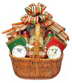 Meat, Cheese, Smoked Salmon & Nuts Thanksgiving Gift Basket – X-LARGE
