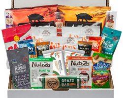 Keto Snack Box (20 Count) – Ultra Low Carb Snacks, Ketogenic Friendly, Gluten Free, Low Su ...