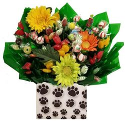 Puppy Paws Hard Candy Bouquet gift – Great as a Birthday, Thank You, Get Well Soon, New Ba ...