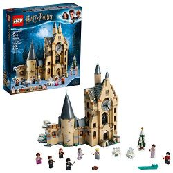 LEGO Harry Potter and the Goblet of Fire Hogwarts Clock Tower 75948 Building Kit, New 2019 (922  ...