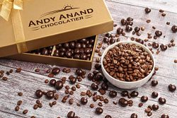 Andy Anand's California Dark Chocolate Covered Espresso Coffee Beans 1 lbs, for Birthday,  ...