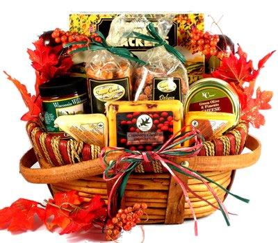 Gift Basket Village Gobble Till You Wobble Fall Gift Basket for Thanksgiving, Medium