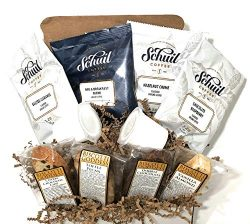 Coffee Gift Box Set With Kosher Non-GMO Biscotti & Ifill Cup