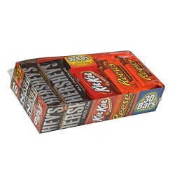 HERSHEY'S Halloween Chocolate Candy Bar Assorted Variety Pack (HERSHEY'S Milk Chocol ...
