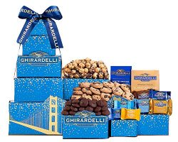 Ghirardelli Chocolate Gift Tower With Ice Pack